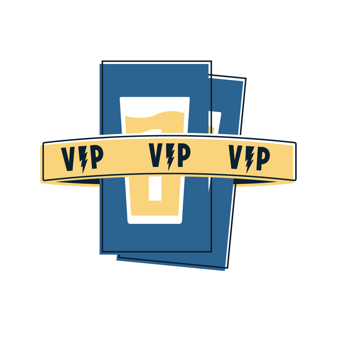 custom illustration for VIP passes
